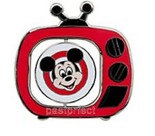 "Disney LE 500 Pin MICKEY MOUSE CLUB TV RED SPINNER Ear Hat Antenna Large 2 "" HTF"