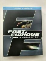 Fast & Furious: 7-Movie Collection (Blu-ray Disc, 2014)