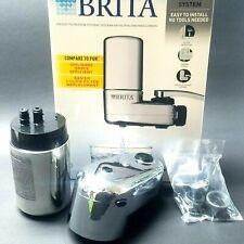 Brita Chrome Tap Water Filter System Faucet Filtration System SAFF-100 Mod 35618