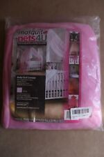 Baby Toddler Bed Pink Cot Canopy New with Tags Drape Mosquito Net 600 X 230cm