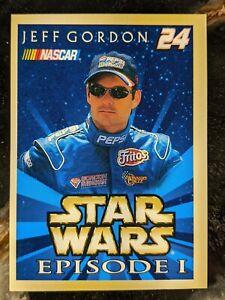 1999 Hasbro Nascar Star Wars Episode 1 - Jeff Gordon Trading Card