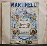 MARTINELLI - REVOLUTION vocal e instrumental 45 GIRI NUOVO copia E.S. 1986
