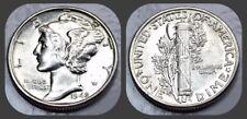 1942-P Mercury Dime - BU Brilliant Uncirculated UNC - US 90% Silver Coin