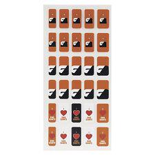 Greater Western Sydney AFL Team Fingernail Stickers * 3 Styles Per packet