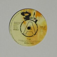 "Nicole stratagemmi ""STO B/N LET IT BE"" UK 7"" unica copia di dimostrazione"