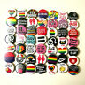 Gay Lesbian Queer Pride Badges Lot x 50 Bulk Wholesale Buttons Pins LGBT 32mm