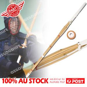 120cm Japanese Kendo Shinai Bamboo Practice Training Stick Bushido AU STOCK