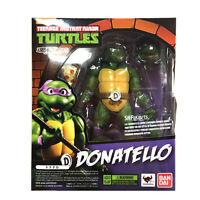 Bandai TMNT Donatello Ninja Turtles Model Action Figures SH Figuarts Kids KO Toy