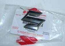 """original Suzuki """"S"""" Emblem Sticker Aufkleber 1 Stück 3,8x3,8cm Dekor in Chrom"""