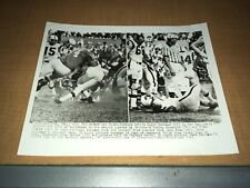 Buffalo Bills Jack Kemp vs. Houston Oilers 1963 AP Football Wire Photo