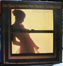 VINYL RECORD ALBUM SOUL FUNK LP PETER BROWN DO YOU WANNA GET FUNKY WITH ME?