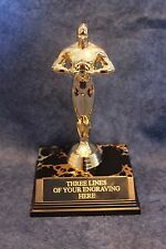 """Movie Award-style Trophy -.7 1/2"""" - Hollywood - FREE ENGRAVING!!!!"""