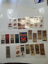 Schlitz Covers Ale Brewing Co. Beer Matchbooks Milwaukee Wisconsin Wis