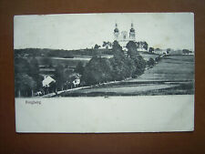 Burgberg bei Jägerndorf Krnov mit Kirche , ca.1910
