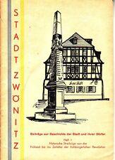 Chronik Zwönitz = Beiträge zur Geschichte der Stadt und ihrer Dörfer / Heft 1