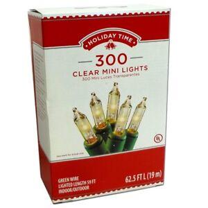 300 Clear Mini Lights Bulbs String Fairy Christmas Wedding Tree Outdoor Indoor