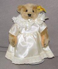 Steiff 0155/22 Stuffed Plush Teddy Bear Girl In Dress Margaret Woodbury  00004000 Strong