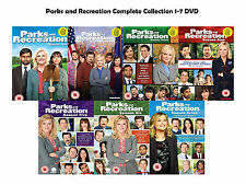 Parks and Recreation Complete Collection 1-7 DVD All Seasons 1 2 3 4 5 6 7 UK R2