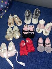 Lot of infant girl shoes Size 0-3 months