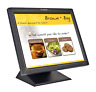 "Planar PT1701MU~ 17"" LCD Touch Screen Monitor / POS Display + Power & SVGA Cords"
