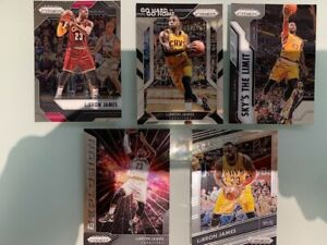 LOT 4 cards 2016-17 Panini Prizm insert LeBron James