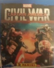 CAPTAIN AMERICA CIVIL WAR X5O LOOSE STICKERS