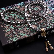 EDC Kung Fu Tactics Stainless Steel Buddha Beads Bracelet Martial Arts Bracelet