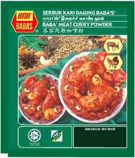 2 Packs x Babas Meat Curry Powder 250g Baba's Malaysian Spices