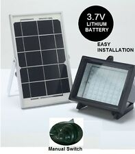 Premium Solar Flood Light 5W 60 Led for Billboard Flagpole Goat Barn