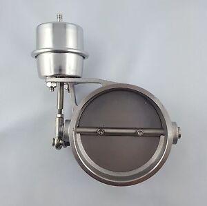 Abgasklappe Auspuffklappe 89mm (3,5 Zoll) pneumatisch Universell Klappen-Auspuff