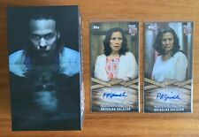 Topps Fear the Walking Dead 80 Card Base Set + Patricia Spindola Autographs PRS