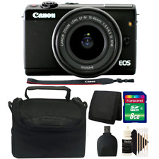 Canon EOS M100 Mirrorless Digital Camera with 15-45mm STM Lens and Accessory Kit