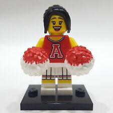 "LEGO Collectible Minifigure #8833 Series 8 ""RED CHEERLEADER"" (Complete)"