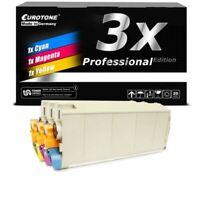 3x Eurotone Pro Toner for Oki C-711-DM C-711-N C-710-DN C-711-DN C-711-WT
