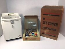 Vintage Jet Tower Dishwasher Youngstown Kitchens Scale Model Dishes