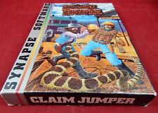 Atari XL: Claim Jumper - Synapse Software 1982