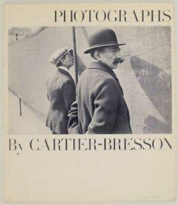 Henri CARTIER-BRESSON / PHOTOGRAPHS 1st Edition 1963 #173481