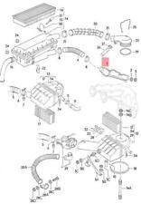 Genuine Volkswagen Warm Air Deflector Plate Manual Gearbox NOS Jetta 055253041F