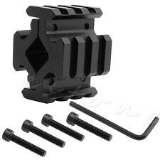 13~20mm Rail 3 Slot Barrel Scope Mount For Scope Sight Flashlight Clip