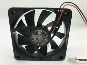 ONG HUA 6015 HA6015M12F-Z DC12V 0.27A two-wire silent cooling fan