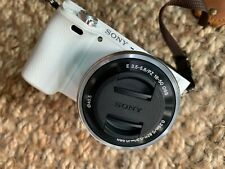 New ListingSony Alpha Sony a6000 24.3 Mp Digital Slr Camera - White. Comes with accessories