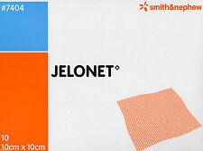 Jelonet Paraffin Gauze Dressings 10cm X 10cm , 1 pack of 10 Dressings