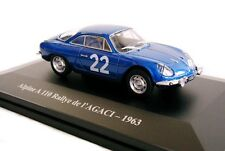 1/43 - ELIGOR -  RENAULT  ALPINE   A110 RALLYE DE L'AGACI - 1963