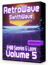 RetroWave Loops Volume 5 SynthWave Acid Logic WAV Pro Tools Ableton FL Studio