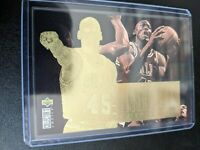 MICHAEL JORDAN 1995 UPPER DECK CC #JC4 JORDAN COLLECTION GOLD FOIL CHICAGO BULLS