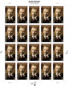 Charles Chestnutt Black Heritage 4222 41 cent Mint NH Stamp Sheet 2008 Free Ship