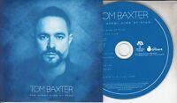 TOM BAXTER The Other Side Of Blue 2018 UK 12-track promo CD