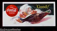 1953 COCA-COLA INK BLOTTER -  HADDON SUNDBLOM ARTWORK - NEW OLD STOCK (a4273)
