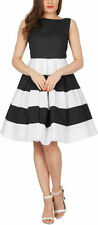 Special Occasion All Seasons Striped Dresses for Women