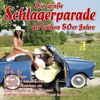 DIE GROßE SCHLAGERPARADE DER FRÜHEN 50ER JAHRE 2 CD NEU